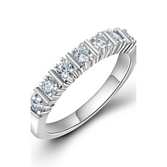 Fashion Ladies Ring Platinum Plated with AAA Quality Austrian Cubic Zircon Ring for Women Birthday Gift