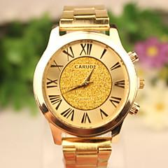 Męskie Zegarek na nadgarstek Kwarcowy Na codzień Pokryte różowym złotem Stal nierdzewna Pasmo Złoty 1# 2# 3# 4#