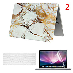 A Smart PVC MacBook Case with Keyboard Cover and Screen Flim for  MacBook Air 13.3 inch