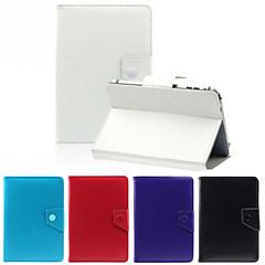 Uniwersalny stojak PU skrzynki pokrywy skóra dla 7-calowy tablet PC czystego koloru