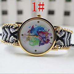 Ms. Common Male Pattern Butterfly Watch