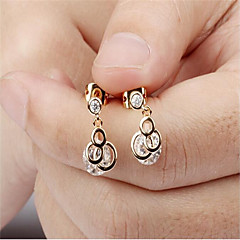 Earring Stud Earrings / Clip Earrings Jewelry Women Party / Daily / Casual Platinum Plated 2pcs