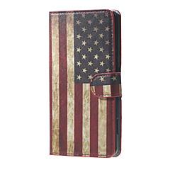 US Flag magnetycznego PU skóra portfel klapki stoją skrzynki pokrywa dla Microsoft Lumia 650