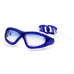 Swimming Goggles Unisex Anti-Fog Silica Gel PC White Red / Black / Blue / Purple / Brown