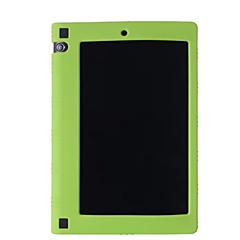 """hoge kwaliteit siliconen rubber gel huid geval dekking voor tabblad lenovo yoga 3 yt3-850f 8 """"tablet (verschillende kleuren)"""