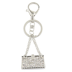 módní trendy drahokamu sada metal kabelka klíčenka / kabelka příslušenství