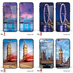 """iphone 6 / 6s corps autocollant d'art: """"londres, l'angleterre, le royaume uni"""" (série de ville)"""