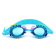 Úszás Goggles Páramentesítő Szilícium-dioxid gél PC Piros Rózsaszín Kék Sötétkék Piros Rózsaszín Kék Sötétkék