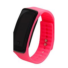 pentru Doamne Ceas Sport Piloane de Menținut Carnea LCD / Ceas Casual Plastic Bandă Negru / Alb / Albastru / Roșu / Pink / Violet Marca-