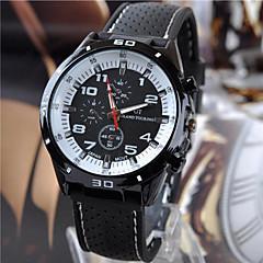 Men's Fashion Silicone Band Quartz Analog Sports Wrist Watch(Assorted Colors)