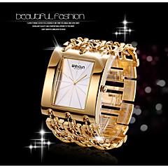 WEIQIN® Women's Square Dial Bangle Watches Ladies Gold Silver Chain Bracelet Watches Quartz Wristwatch relogio feminino