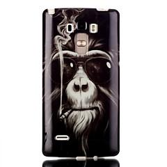 Voor LG hoesje Transparant / Patroon hoesje Achterkantje hoesje Dier Zacht TPU LG LG G4 Stylus / LS770