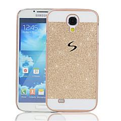 Para Funda Samsung Galaxy Carcasa Funda Diamantes Sintéticos Cubierta Trasera Funda Brillante Policarbonato para SamsungS5 Mini S4 Mini