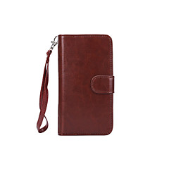 magnetiske 2 i en lommebok lærveske til Samsung Galaxy S4 / S5 / S6 / S6 kant / s6 kant + / S7 / S7 kant / S7 kant pluss