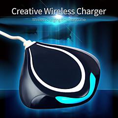 Trådløs Oplader Til mobiltelefon 1 USB-port EU  Stik UK  Stik US Stik AU  Stik Hvid Sort