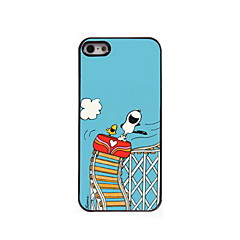 Slides dog Pattern Aluminum Hard Case for iPhone 5/5S