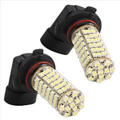 2 In 1 3528SMD HB4/9006 120 White LED Lights 12V