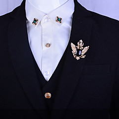 Heren Dames Edelsteen Platina Verguld Verguld Legering Modieus Zilver Gouden Sieraden Bruiloft Feest Dagelijks Causaal