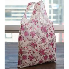 Fashion Folding Print Pattren Stronge Bags Shopping Bag(Color Random)