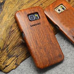 Varten Samsung Galaxy kotelo kotelot kuoret Kuvio Takakuori Etui Puukuvio Puu varten Samsung S6 edge plus S6 edge S6