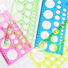관상 주름을 달기 종이 라운드 템플릿을 만드는 기술 - 임의의 4 색