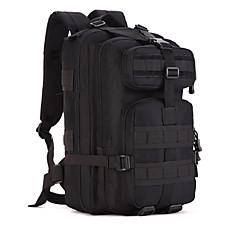 40 L 백패킹 배낭 배낭 캠핑 & 하이킹 수렵 여행 먼지 방지 착용할 수 있는 다기능 캔버스