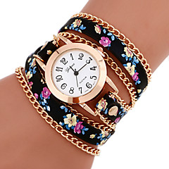 Women's Watches Vintage Braided cruising Bracelet Watch Geneva Quartz Strap watch Ethnic Style Wrist watch femme montre Cool Watches Unique Watches