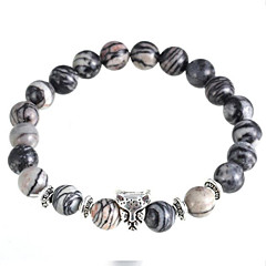 As Kurata Natural Stone Bracelet Charm Bracelets Daily / Casual 1pc