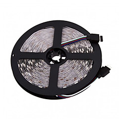 z®zdm 5m geleid 300 * 5050 SMD 12V rgb led strip lamp 72W