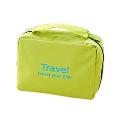 Kosmetiktasche Kosmetik Tasche Wasserdicht Aufhängen Transportabel Multi-Funktion für KulturtascheOrange Rot Grün Blau Rosa