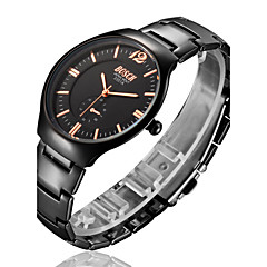 Men's Watch BOSCK With Ultra-Thin Black Tungsten Alloy Waterproof Tungsten steel strap Quartz Watch Wrist Watch Cool Watch Unique Watch