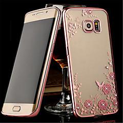 Mert Samsung Galaxy Note Átlátszó Case Hátlap Case Virág TPU Samsung Note 5 / Note 4 / Note 3