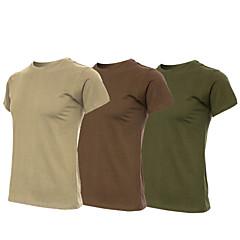Unisex T-shirt turystyczny Yüksek Hava Alımı (>15,001g) Nefes Alabilir Miękki Hafif Malzemeler Pochłanianie potu Tişört için Yoga Kamp &