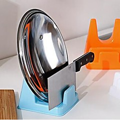1PC Spoon Rack Rest Pot Pan Lid Rack Stand Holder Kitchen Cooking Utensil Tool Random Color
