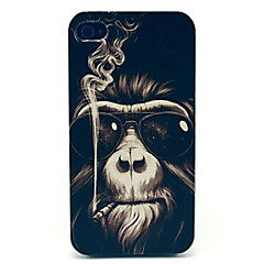 Para iPhone X iPhone 8 iPhone 8 Plus Capinha iPhone 5 Case Tampa Estampada Capa Traseira Capinha Animal Rígida PC para iPhone X iPhone 8