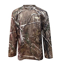 TA1-002A Bionic Camouflage Hunting Camouflage T-shirt Quick-Drying Long-sleeved Clothing Military Fans