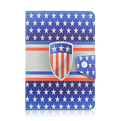 Universal 7 Inch Tablet Case Western Style Pattern PU Leather Flip Stand Case Cover For 7.0 Inch Tablet