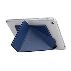 Smart Cover voor Apple iPad 6 transformator slimme geval voor iPad lucht TPU lederen tas met standaard functie neer