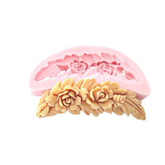 češalj u obliku cvijeća silikonski kalup za Fondant plijesni šećera obrta alati čokolada kalup za torte