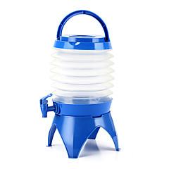 5.5l udendørs camping gældende vand spand vandreture fiskeri picnic handy sammenklappelig sammenklappelig vandflaske container