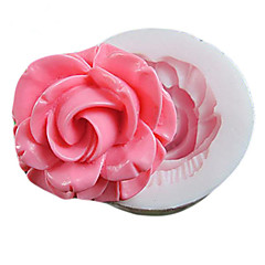 ett hull blomst silikon mold fondant muggsopp sukker håndverket verktøy resin blomster mold for kaker