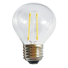 2W E26/E27 Lâmpadas de Filamento de LED A60(A19) 2 LED de Alta Potência 250LM lm Branco Quente Branco Frio Decorativa AC 220-240 V 1 pç