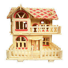 Romantic Cabin Wood 3D Puzzles Diy Toys