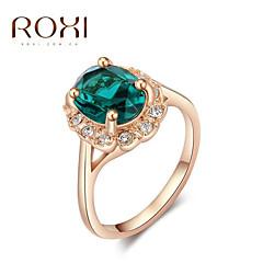 טבעות אופנתי חתונה תכשיטים סגסוגת נשים טבעות הצהרה 1pc,מידה אחת One Size מוזהב