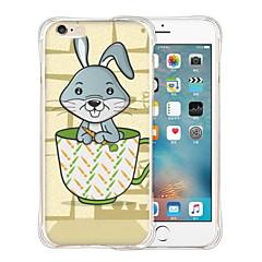 huisdier van de beker zachte transparante siliconen achterkant van de behuizing voor de iPhone 5 / 5s (diverse kleuren)