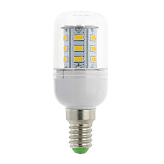 3W E14 / G9 / GU10 / B22 / E12 / E26 / E26/E27 LED Corn Lights T 24 SMD 5730 300 lm Warm White / Cool White AC 85-265 V 1 pcs