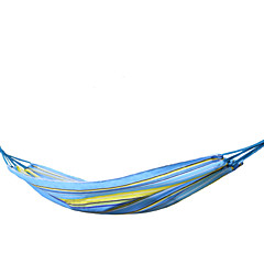 KORAMAN Outdoor Single Hammock Lightweight Breathable Oxford Cloth with Rope and Bag