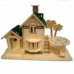 Seaview Room Wood 3D Puzzles Diy Toys