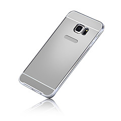 Metal Frame Mirror Back Skin Cover Case for Samsung Galaxy S7/S7 Edge/S6 Edge Plus/S6 Edge/S6/S5/S4/S3