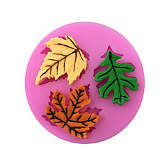 Maple Leaf Style Sugar Candy Fondant Cake Molds  For The Kitchen Baking Molds
